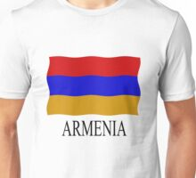 Armenian flag Unisex T-Shirt