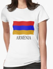 Armenian flag Womens Fitted T-Shirt