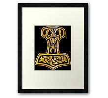 Mjoelnir - Hammer of Thor 01 Framed Print
