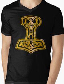 Mjoelnir - Hammer of Thor 01 Mens V-Neck T-Shirt