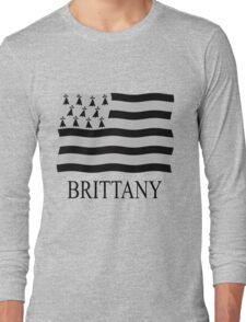 Brittany flag Long Sleeve T-Shirt