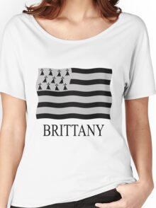 Brittany flag Women's Relaxed Fit T-Shirt