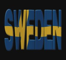 Sweden flag by stuwdamdorp