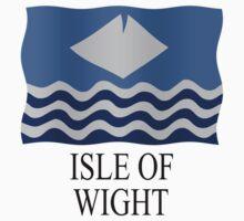 Isle of Wight flag Kids Tee