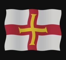 Guernsey flag by stuwdamdorp