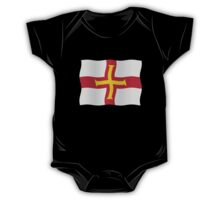 Guernsey flag One Piece - Short Sleeve