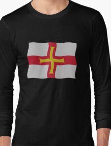 Guernsey flag Long Sleeve T-Shirt