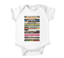 Stereo Stack Shirts & Hoodies One Piece - Short Sleeve