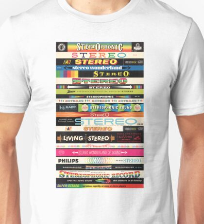 Stereo Stack Shirts & Hoodies Unisex T-Shirt