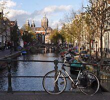 Amsterdam - Typical Amsterdam View by Nina Zhiltsova
