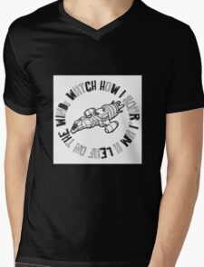 Leaf On The Wind Mens V-Neck T-Shirt