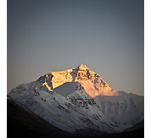 Sunset at Mount Everest Photographic Print