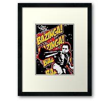 Dirty Sheldon  Framed Print