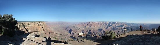 Canyon View Panorama by Jem Wright