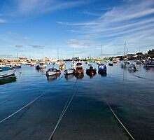 Penzance Harbour by Paul Wratislaw