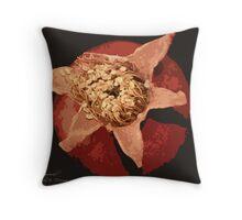 Tiny Pomegranate  Throw Pillow