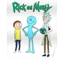 meeseek, Rick and morty  Poster
