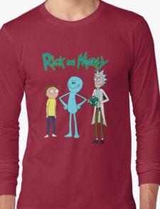 meeseek, Rick and morty  Long Sleeve T-Shirt