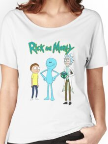 meeseek, Rick and morty  Women's Relaxed Fit T-Shirt