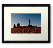 Totem Pole - Monument Valley Framed Print