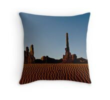 Totem Pole - Monument Valley Throw Pillow
