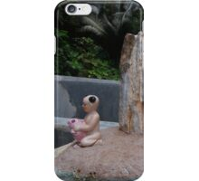 Small Child and Fish iPhone Case/Skin