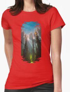 A land far away Womens Fitted T-Shirt