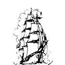 Sailing ship 2 by chiaraggamuffin