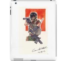 Espionage Girl iPad Case/Skin