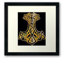 Mjoelnir - The Hammer of Thor 03 Framed Print