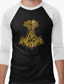 Mjoelnir - The Hammer of Thor 03 Men's Baseball ¾ T-Shirt