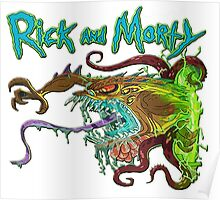 rick and morty monster  Poster