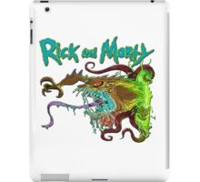 rick and morty monster  iPad Case/Skin