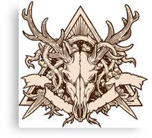 - Dead deer - Canvas Print