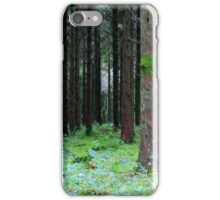 trees in the wood iPhone Case/Skin