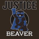 Justice Beaver the Crime-Fighting Beaver by huckblade