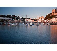 Torquay sunset Photographic Print