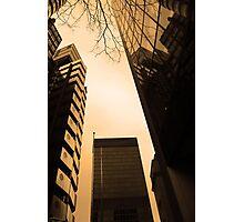 Sunlit towers Photographic Print