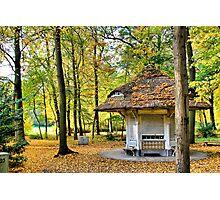 L'Aubette du Parc - Antwerp - Belgium Photographic Print
