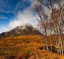 Autumn at Stob Dearg  by Gabor Pozsgai