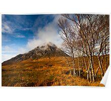 Autumn at Stob Dearg  Poster