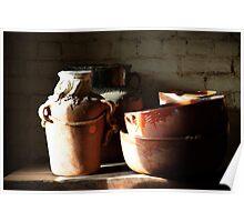 Timeless Pottery Poster