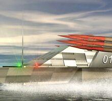 Sea Pegasus Missile Boat by XadrikXu