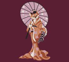 Shiba Inu Geisha by MimsySherry