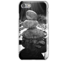 stones in rays iPhone Case/Skin