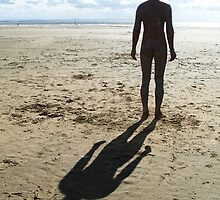 Anthony Gormley - another place by Zoe Toseland