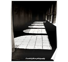 Shadows of a Colonnade Poster
