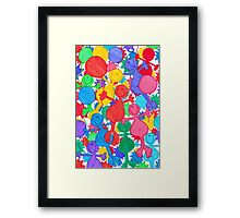 One Balloon Each... Framed Print
