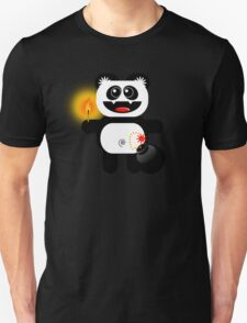PANDA 4  (Cute pet has a bomb and its alight!) T-Shirt