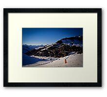 Val Thorens, France, March 2011 Framed Print